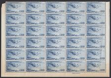 RYUKYU-JAPAN, 1951. Air C4 1/2 Sheet 50, Mint **