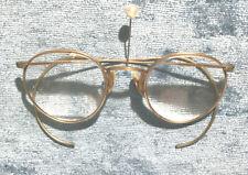 Vtg Ao American Optical 1/10 12k Gf Gold Filled Ful Vue Eyeglasses Bifocals