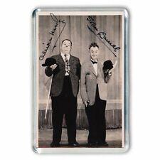 Laurel & and Hardy AUTOGRAPHS #5 JUMBO Fridge / Locker Magnet