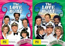 The Love Boat Series Complete Season 3 Volumes 1 & 2  DVD Sets Region 4 R4