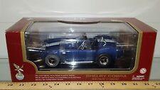 1/18 ROAD LEGENDS 1964 SHELBY COBRA 427S/C ROADSTER BLUE WHITE STRIPES bd