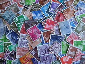 Great Britain 123 different used regional stamps!