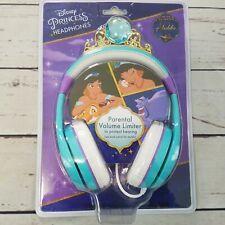 Disney Princess Headphones with Parental Volume Limiter Aladdin Jasmine