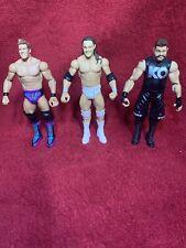 WWE Wrestling Figure Bundle Chris Jericho Kevin Owens Bo Dallas
