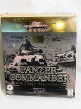 Panzer  Commander  SSI  1998 & Panzer General II   PC VIDEO GAME - BIG BOX  EUC