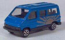 "Corgi Juniors Renault Trafic Traffic Van Sunrise 2.75"" Blue Die Cast Scale Model"