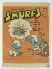 Vintage Stories Of The Smurfs The Hundredth Smurf The Flying Smurf Comic 1980