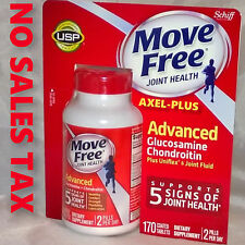 170 Coated Tablets Schiff Move Free Advanced Triple Strength Glucosamine NEW!