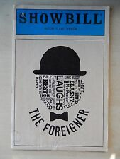 October 1985 - Astor Place Theatre Playbill - The Foreigner - Jack Gilpin
