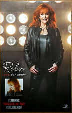 REBA MCENTIRE Love Somebody Ltd Ed Discontinued RARE Poster +FREE Country Poster