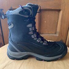 Columbia Bugaboot Sz 8 BL3876-010 Omni Heat Waterproof Winter Hiking Snow Boots