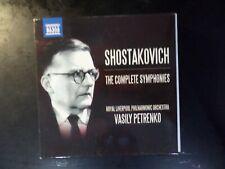 11 DISC CD BOX SET - NAXOS - SHOSTAKOVICH - THE COMPLETE SYMPHONIES - PETRENKO
