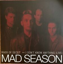 'MINT' MAD SEASON 10��� - RED VINYL - RIVER OF DECEIT/I DON'T KNOW ANYTHING #1201