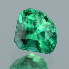 0.80 Ctw Fancy Collection Crystal Green Natural Colombian Emerald