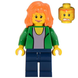 LEGO Spider-Man - Mary Jane Minifigure - From #4851 The Origins