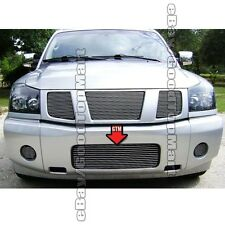 For 2004-2011 2012 2013 2014 Nissan TITAN 1PC Bumper REPLACEMENT Polished Grille