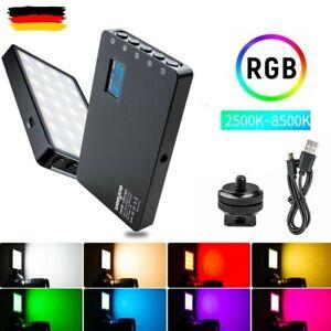 VILTROX Weeylite RB08P RGB Video LED Licht Füllleuchte 2500K-8500K CRI 95+