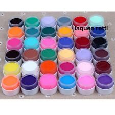 36 Pot Pure Color Decor UV Gel Nail Art Tips Lamp Shiny Cover Extension Manicure