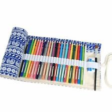 36 slot pen art paint brush canvass case wallet