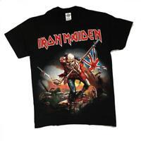 Camiseta Rock Chico OFICIAL Iron Maiden -THE TROOPER- Rock Men T-Shirt