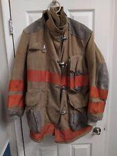 Globe Firefighting Turnout Coat Bunker Jacket 44x35