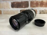 [Excllent] Nikon Nikkor-QC Auto Ai 200mm f/4 Telephoto Lens From Japan #498