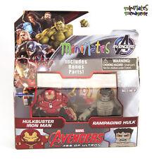 Marvel Minimates Series 63 Avengers Age of Ultron Hulkbuster Iron Man & Hulk