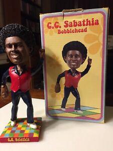 Cleveland Indians SGA C.C. Sabathia 1970s Disco Bobblehead