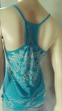 Testament Turquoise Top XS