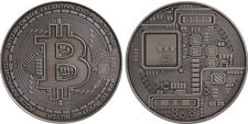 Physical Bitcoin .999 Fine Silver Crypto MJB Monetary Metals Michael Bruce Coin