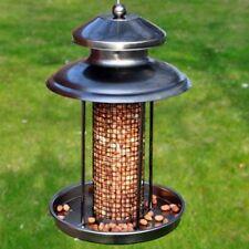 Deluxe Steel Hanging Lantern Shaped Wild Bird Feeder Nut Feeder Station BF037