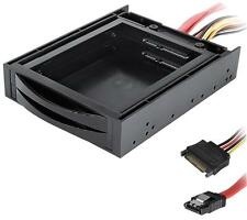 "Dynamode - SSD-HDD2.5 - Dual 2.5"" Sata Ssd/hdd Hot-swap Drive Caddy"