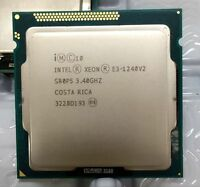 Intel Xeon E3-1240V2 CPU 8M Cache 3.40 GHz Quad Core LGA 1155 SR0P5  Tested