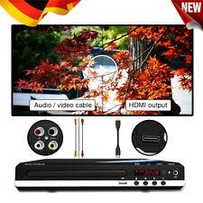 DVD CD UHD Spieler mit HDMI USB AV Anschluss Mit Fernbedienung für TV Player