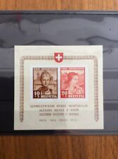 Schweiz, Pro Juventute 1941, Block Kriegs-Winterhilfe, postfrisch. KW 160 CHF