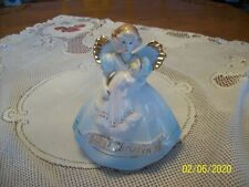 Josef Original By Appause Vintage Porcelain 1993 Baby's Christening Angel With L