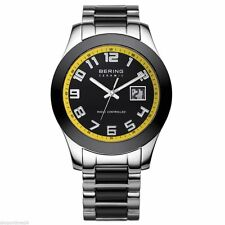 Men's Quartz (Battery) Analog Bering Ceramic Wristwatches