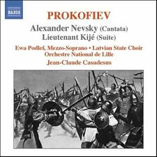 Jean-Claude Casadesus, S. Prokofiev - Alexander Nevsky [New CD]