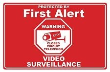 First Alert Security Systems - SECURITY SIGN- #PS-418