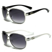 NEW CG Classic Retro Mens Fashion Metal Aviator's Vintage Designer Sunglasses
