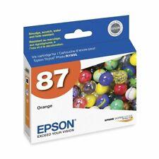 Genuine Epson 87 T0879 Orange Ink Cartridge for Stylus Photo R1900