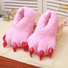 MonkeyEAT Monster Claw Plush Slippers Pink