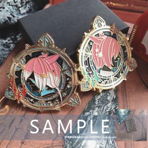 Final Fantasy XIV FF14 Gurahatia Crystal Exarch Enamel Brooch Pin Collection N