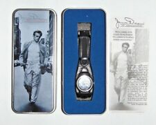 JAMES DEAN 50th Anniversary WATCH Black Leather Band by Avon Collectible