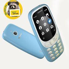 [ Optus Locked ] Nokia 3310 3G Australia Edition All Sims  2MP Azure