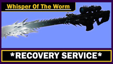 [PS4] Destiny 2 Obtaining the Whisper of the Worm + Catalyst as Extra