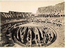 Rome Colosseum Interior Vintage oversized albumen photo 28x38 cm 1870c XL130
