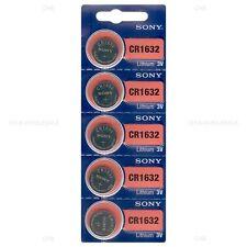 1000 NEW SONY CR1632 3V Lithium Coin Battery Exp 2027 FRESHLY NEW -USA Seller