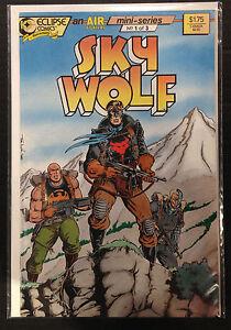 Sky Wolf #1 NM- 1st Print Free UK P&P Eclipse Comics