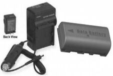 Battery + Charger for JVC BN-VF808U BN-VF808 GR-D720